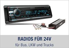 24v Radios für Bus, LKW und Trucks