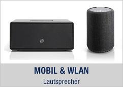 Mobil, WLAN und Bluetooth Lautsprecher