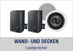 Wand- und Decken Lautsprecher