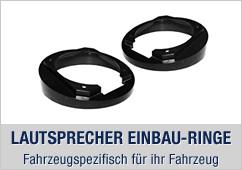 Lautsprecher Einbau Ringe, Fahrzeugspezifisch für ihr Fahrzeug