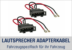 Lautsprecher Adapterkabel, Fahrzeugspezifisch für ihr Fahrzeug