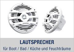 Marine Lautsprecher - für Boot / Bad / Küche und Feuchträume