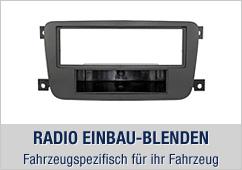 Radio Einbauset, Fahrzeugspezifisch für ihr Fahrzeug