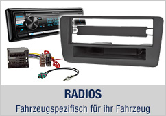 Radios, Fahrzeugspezifisch für ihr Fahrzeug