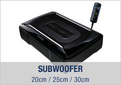 Subwoofer, 20cm / 25cm / 30cm